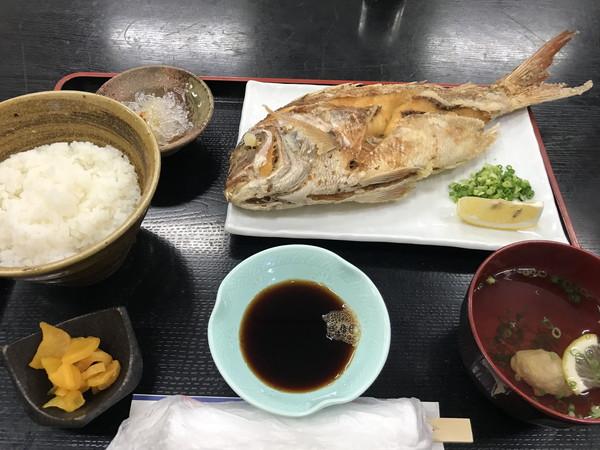 20_鯛の唐揚げ定食