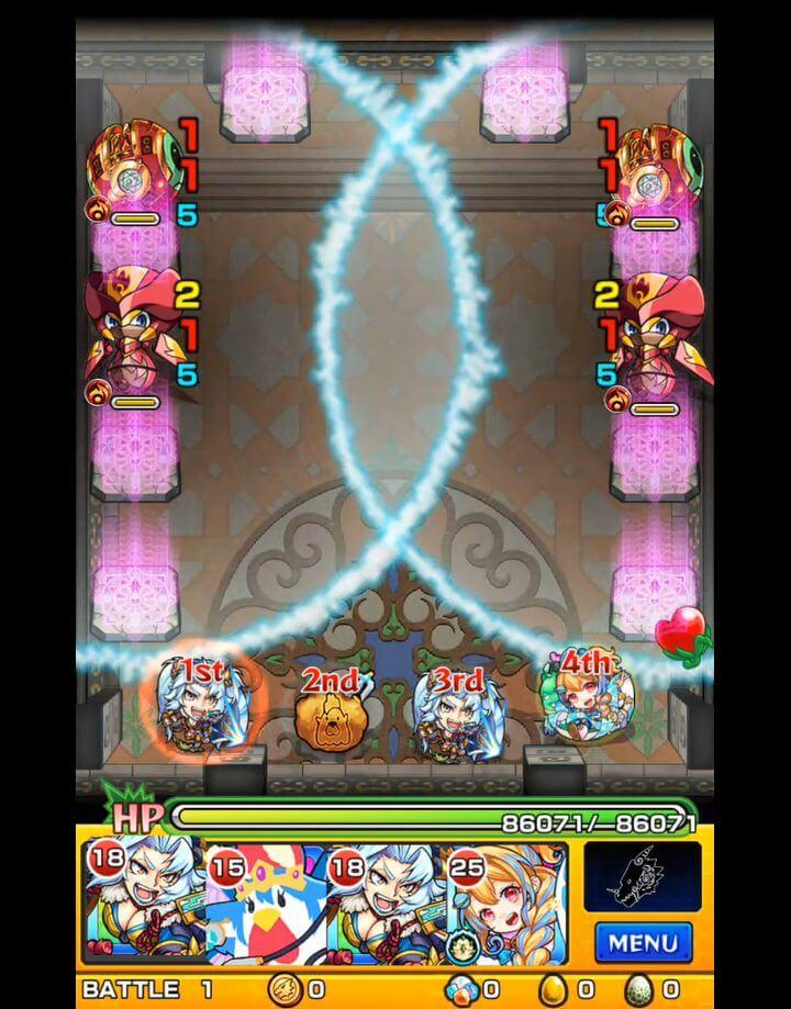 覇者の塔 31階 BATTLE1