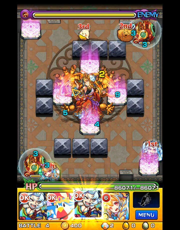 覇者の塔 31階 BATTLE4