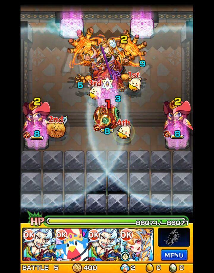 覇者の塔 31階 BATTLE5