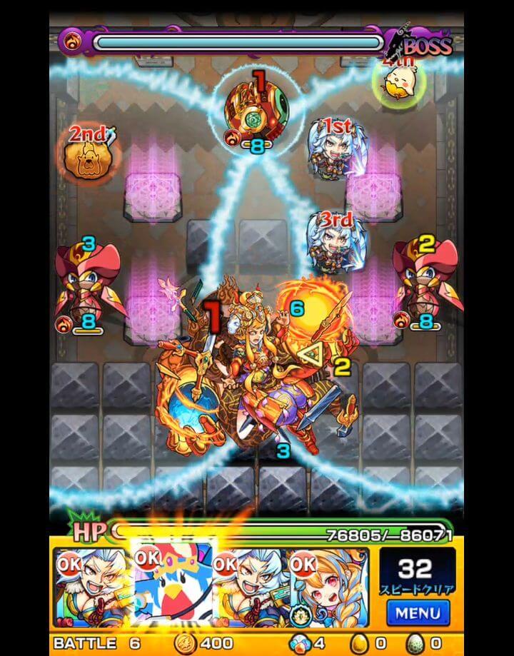 覇者の塔 31階 BATTLE6