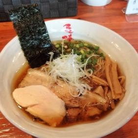 清湯 コーチン鶏そば 醤油 750円