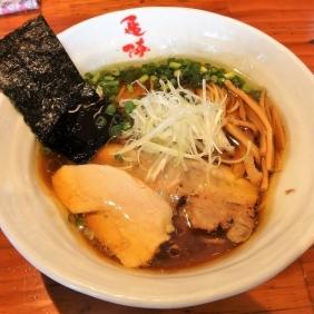 清湯 コーチン鶏そば 醤油 750円 ストレート麺に変更