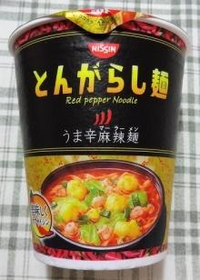 とんがらし麺 うま辛麻辣麺 106円