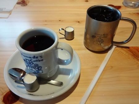 ブレンドコーヒー、アイスコーヒー
