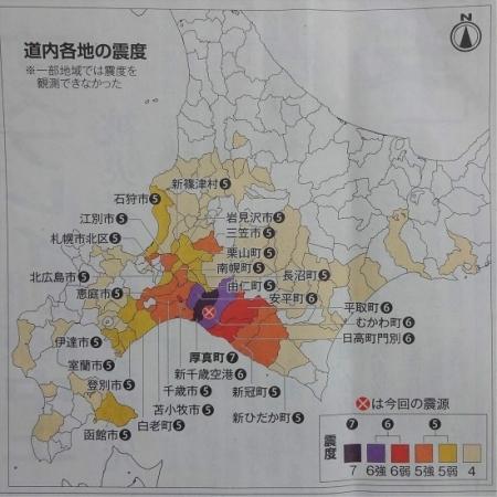 北海道新聞9月7日朝刊より