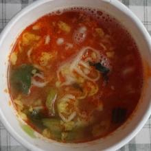 スープを混ぜて出来上り!