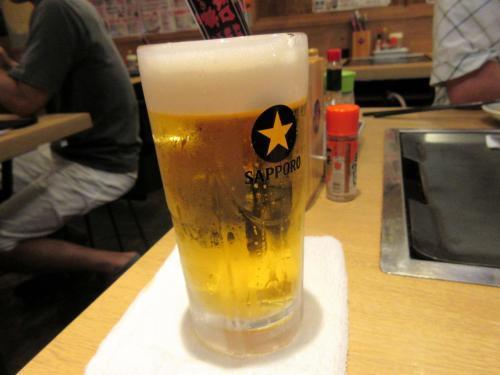 ビールが旨い