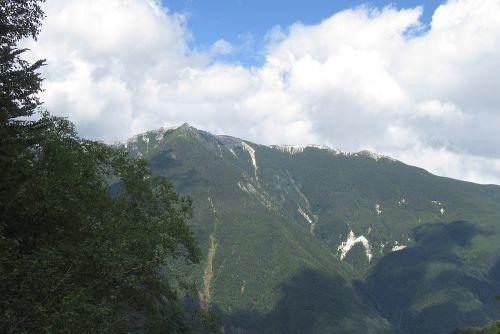 観音岳と薬師岳