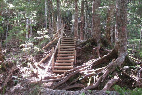 立派な階段