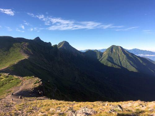 南八ヶ岳の山々