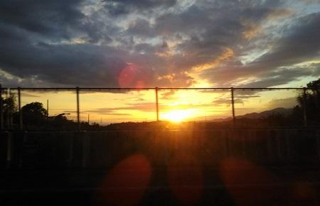 和歌山 夕日