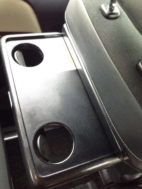 ノア EXEA星光産業シートバックテーブル カップホルダー (4)