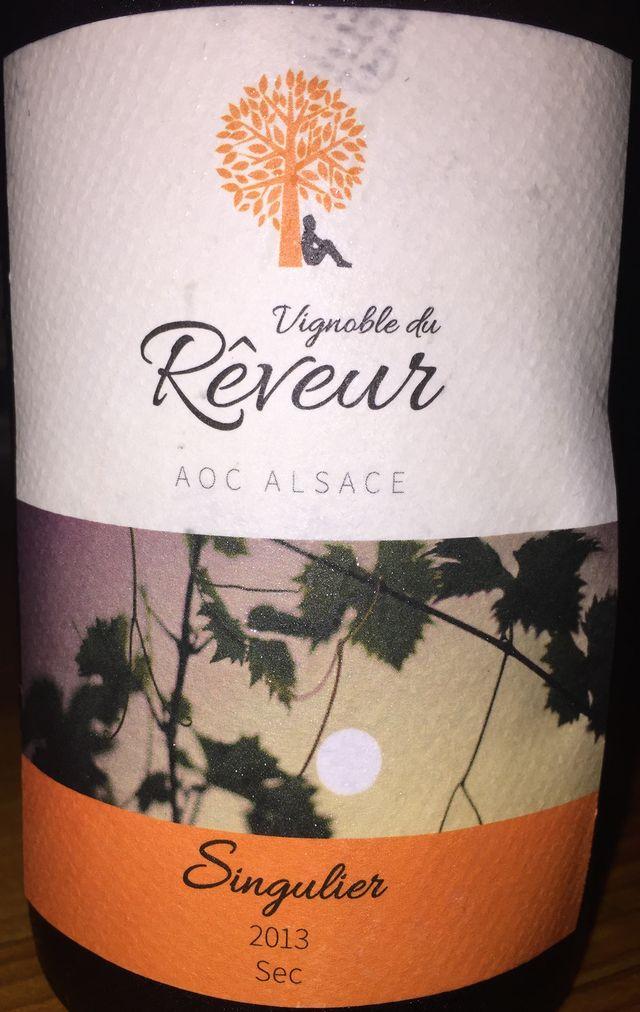 Vignoble du Reveur Singulier sec 2013 part1