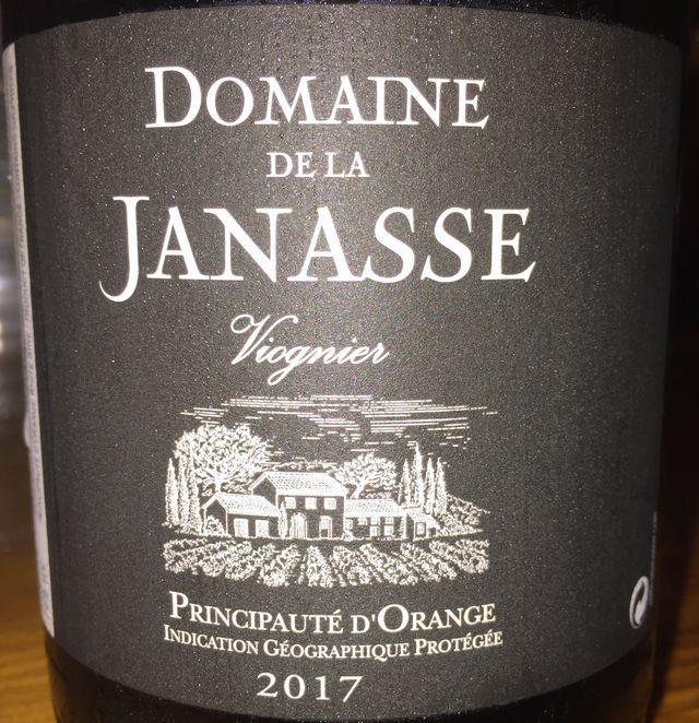 Vionier Domaine de la Janasse 2017 part1