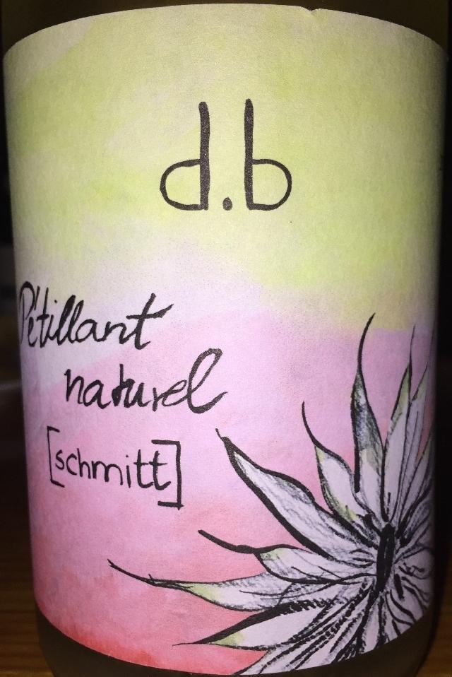Petillant Naturel Brut Nature Ohne Zugesetzten Schwefel Hersteller Weingut Schmitt 2016 part1
