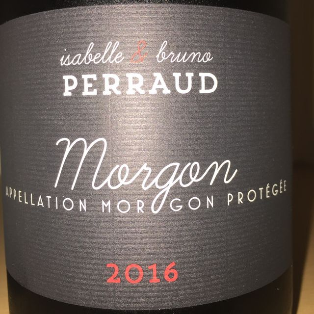 Morgon Isabelle  Bruno Perraud 2016 part1