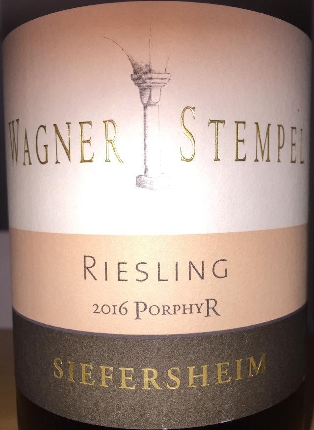 Wagner Stempel Riesling Porphyr Siefersheim 2016