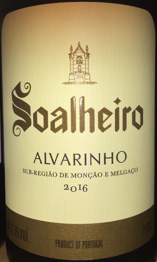 Soalheiro Alvarinho 2016 part1