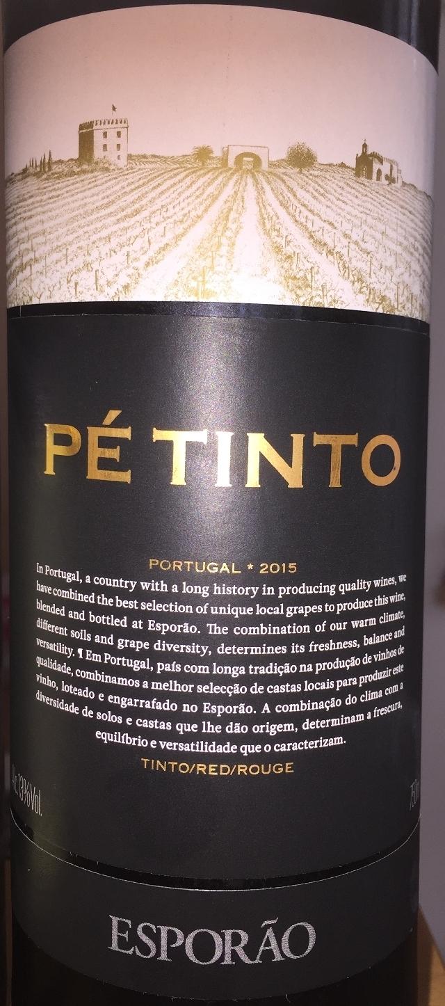 Esporao Pe Tinto 2015 part1