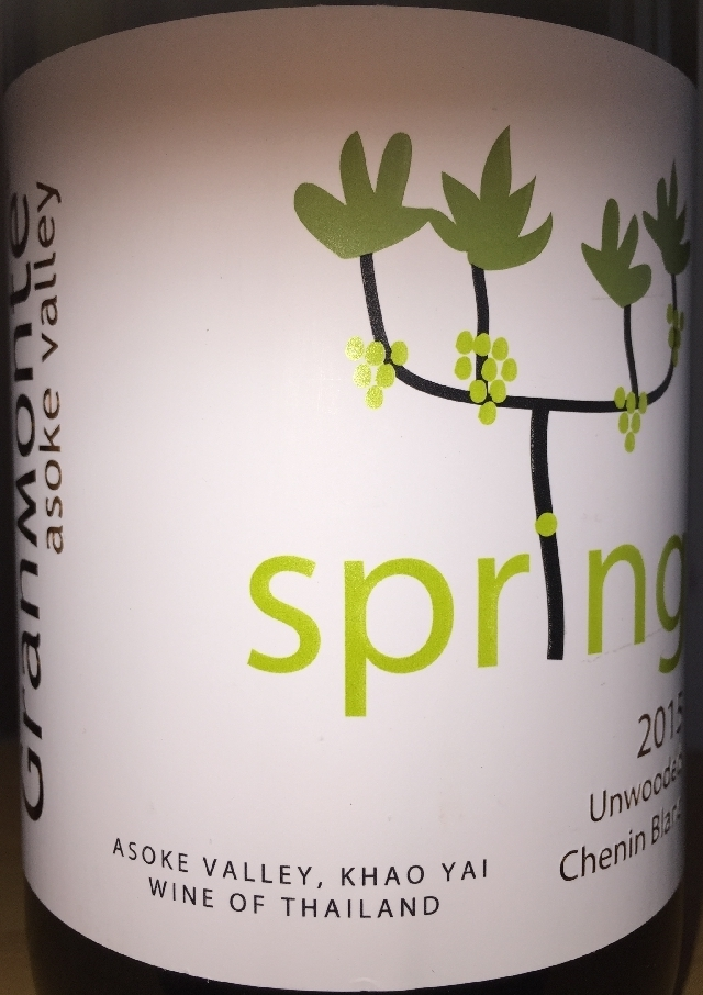 Spring Chenin Blanc Unwooded Asoke Valley Granmonte 2015