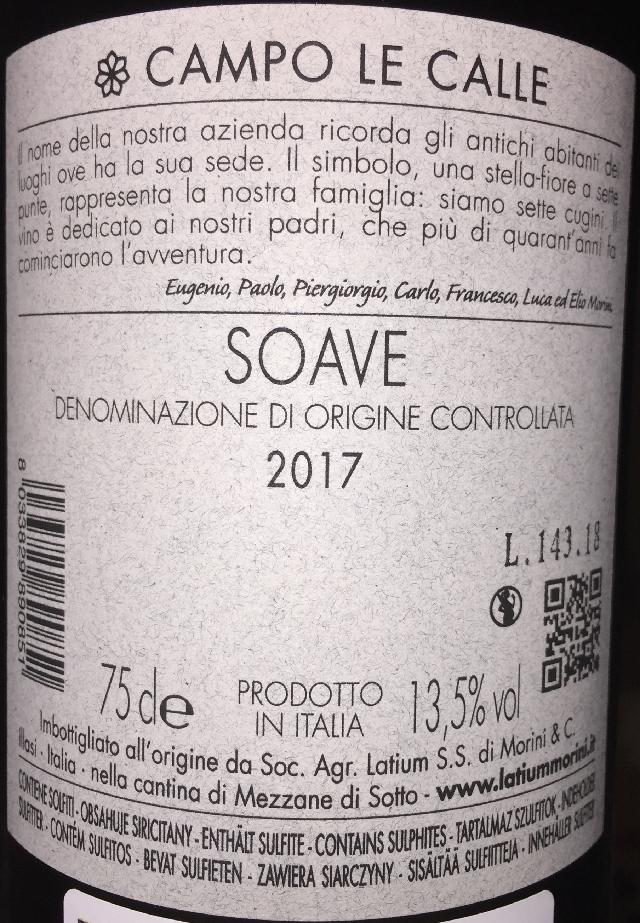 Campo Le Calle Soave Latium 2017 part2