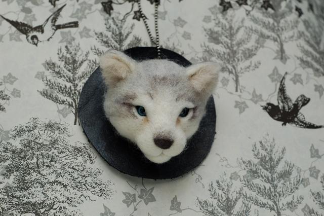 オオカミ展2018ブローチー6