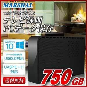 外付けHDD750GB