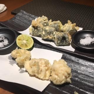 3手前白子天ぷらとホタテとチーズ磯辺揚げimage3