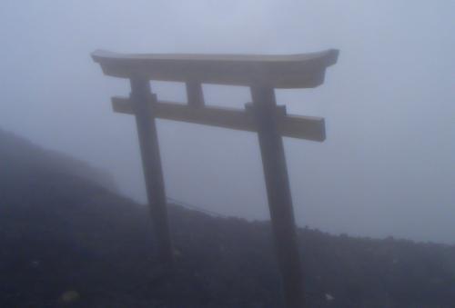 181011 富士山鳥居
