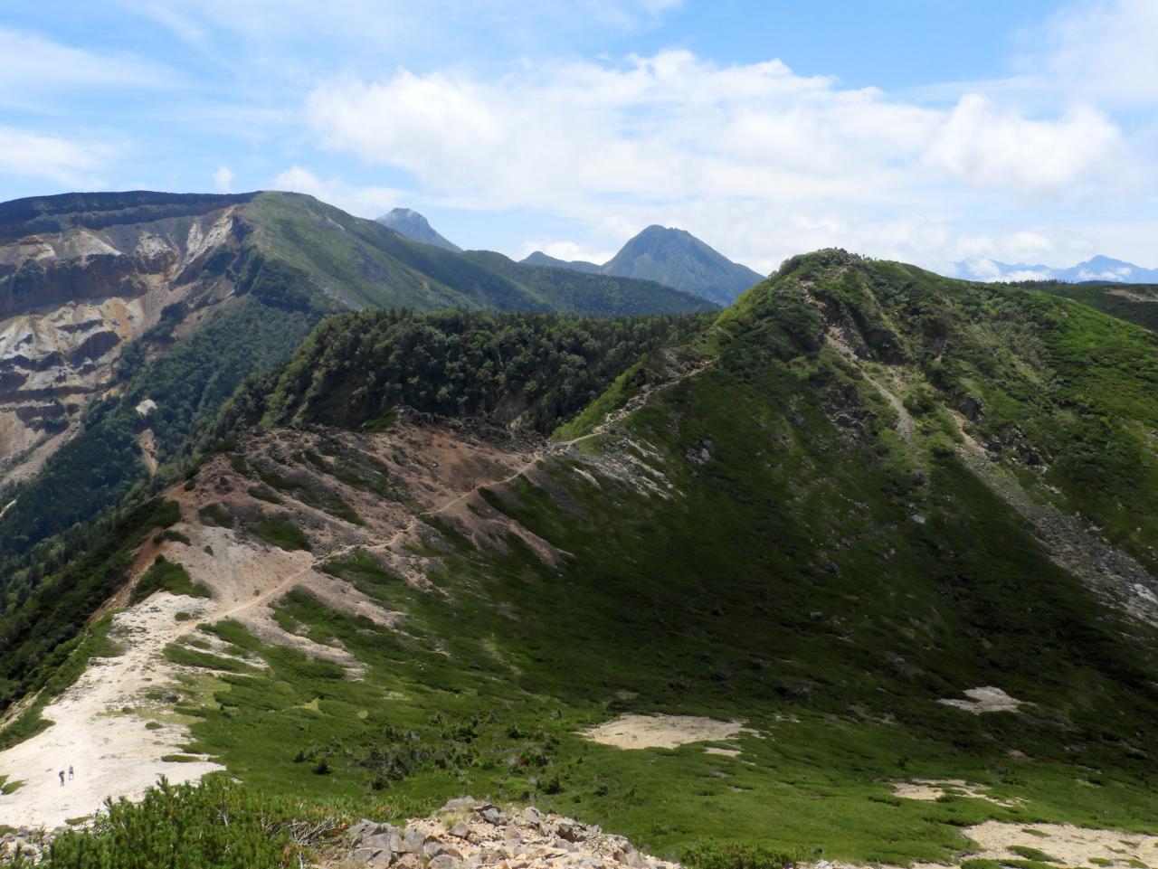 東天狗から根石山・硫黄岳・赤岳