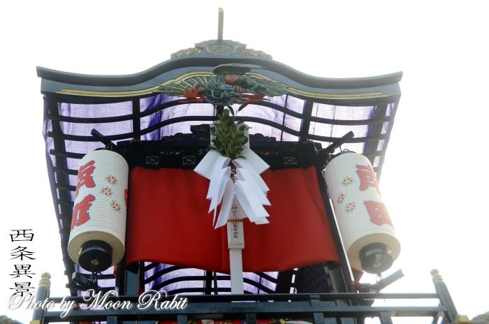 南町だんじり(屋台) 祭り旗・御幣
