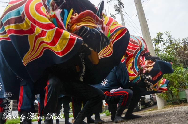 妙口原獅子舞 石土神社祭礼