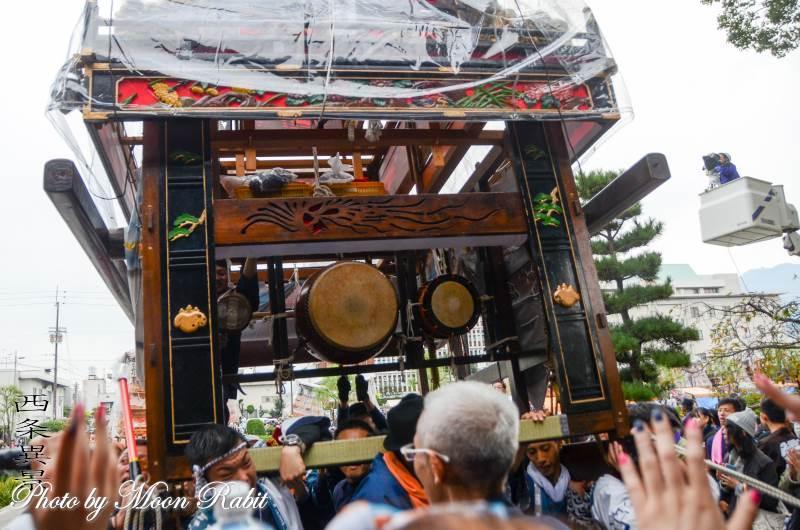 新玉通屋台(だんじり) 祭り太鼓