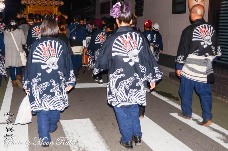 都町だんじり(屋台) 祭り装束