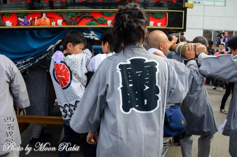 南町屋台(だんじり) 祭り装束 西条祭り