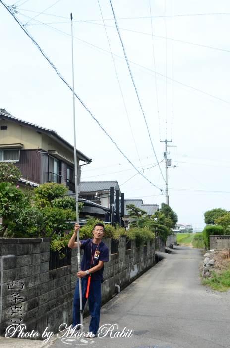福武新田屋台(だんじり) 蟇股・電線棒