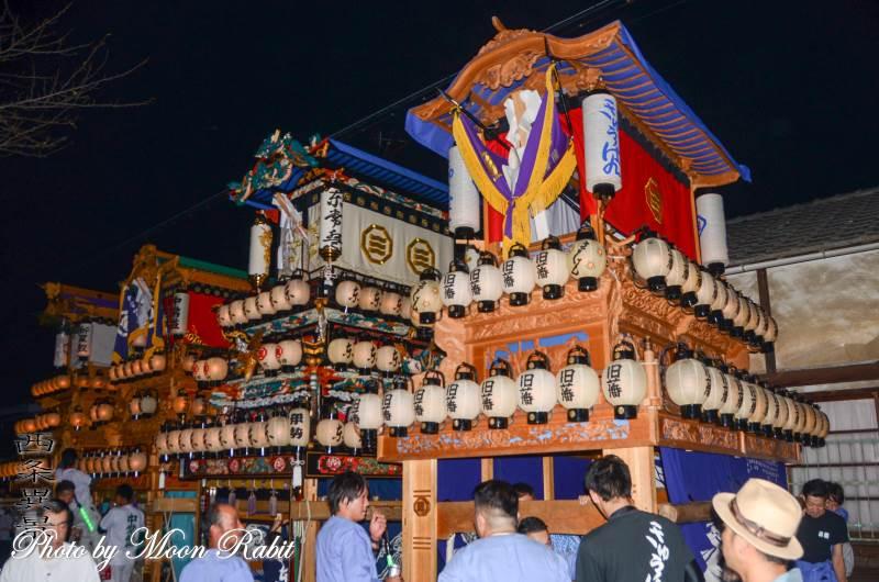 旧藩だんじり(屋台) 常盤祭 常盤神社 愛媛県西条市小松町新屋敷