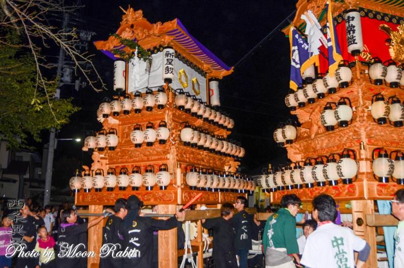 新屋敷だんじり(屋台) 常盤祭 常盤神社 愛媛県西条市小松町新屋敷