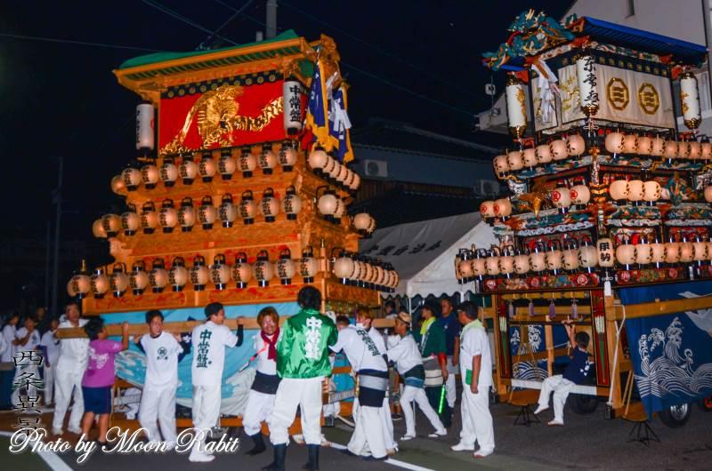中常盤屋台(だんじり) 常盤祭 常盤神社 愛媛県西条市小松町新屋敷