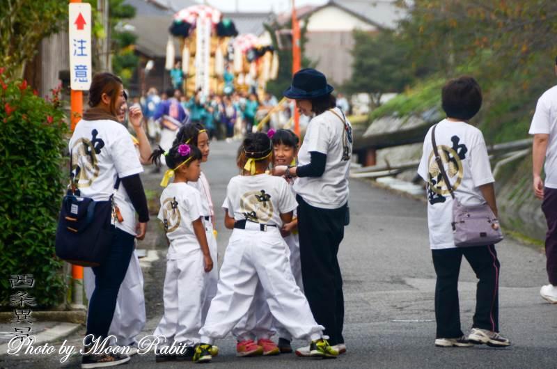 中組太鼓台 祭り装束