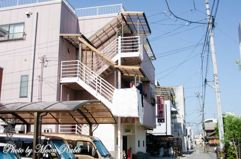 家並み 愛媛県西条市駅西