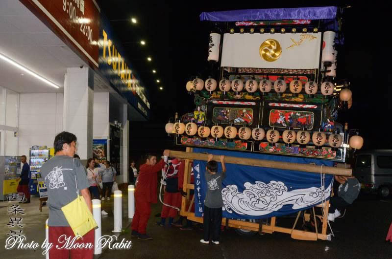 東予宵祭り ゑびす会だんじり(屋台)
