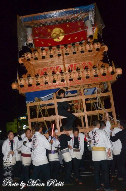 東予宵祭り 親善会だんじり(屋台)