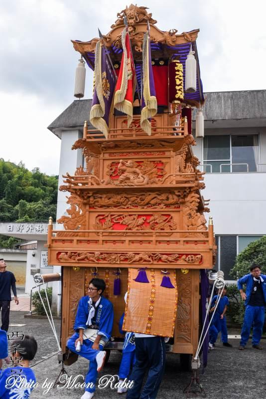 西泉屋台新調30周年記念運行 西泉屋台(だんじり)