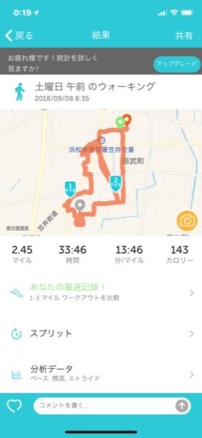 散歩 土曜日