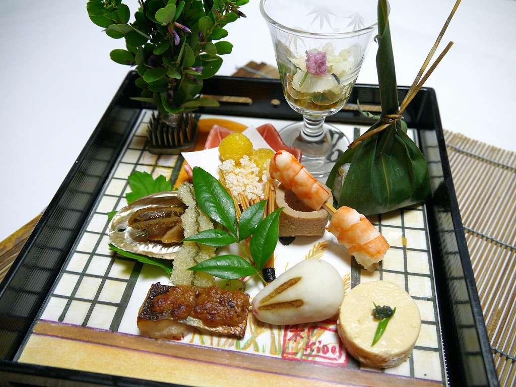 大分県☆湯布院の宿「山灯館」季節を感じるお食事は9月もステキ!