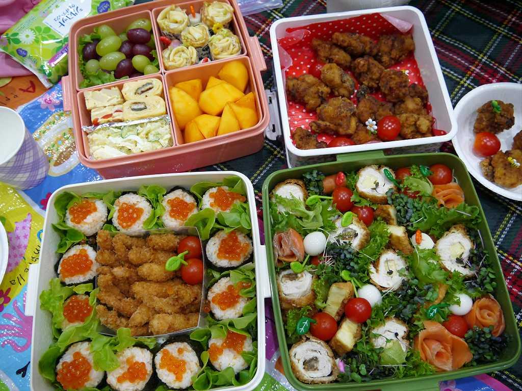 秋の運動会☆お弁当2016「食べるサラダ!と親子おにぎり」