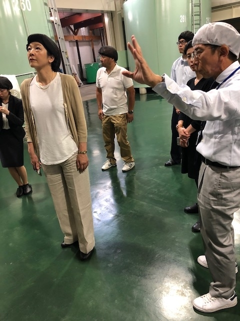 西田さん見学①