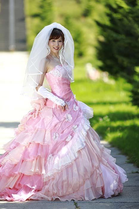 彩音:ピンクドレス8